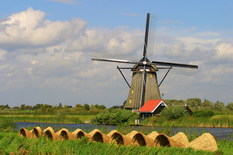 Moulin photo stock