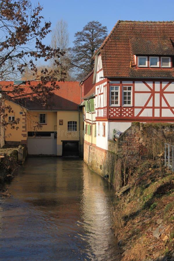 Moulin de Babenhausen photographie stock