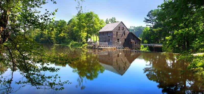 Moulin de blé à moudre de Yates images libres de droits