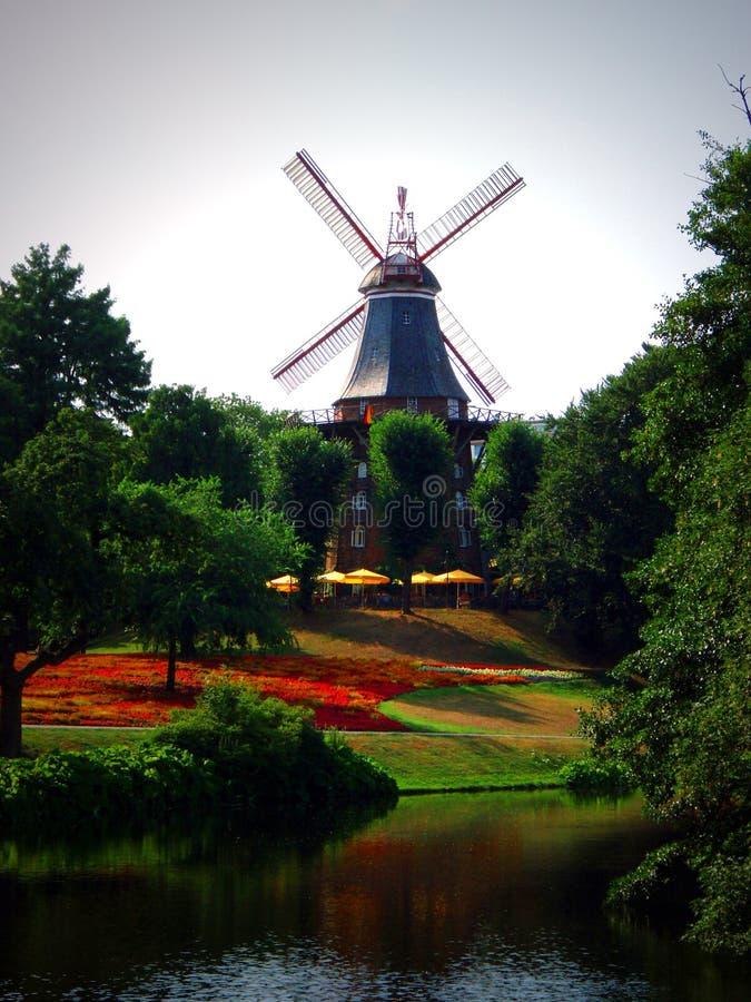 moulin de Brême photos stock