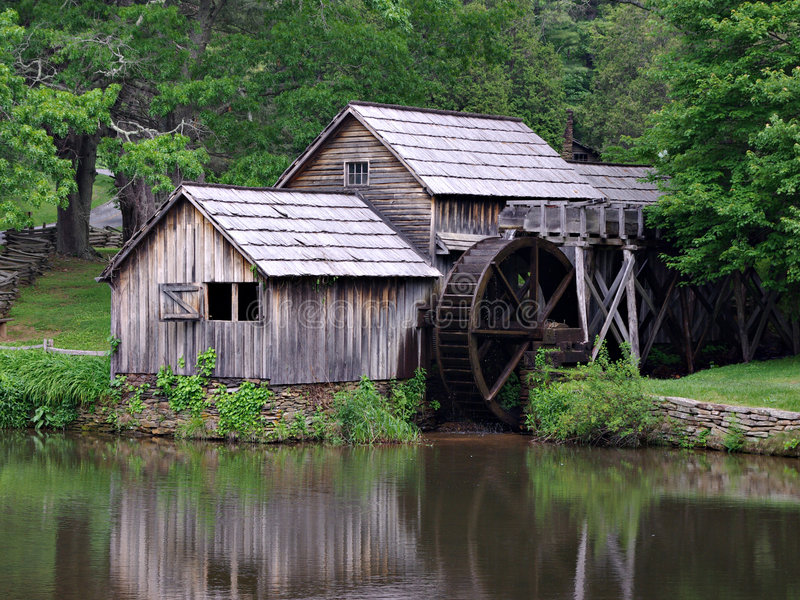 Moulin de Mabry photographie stock