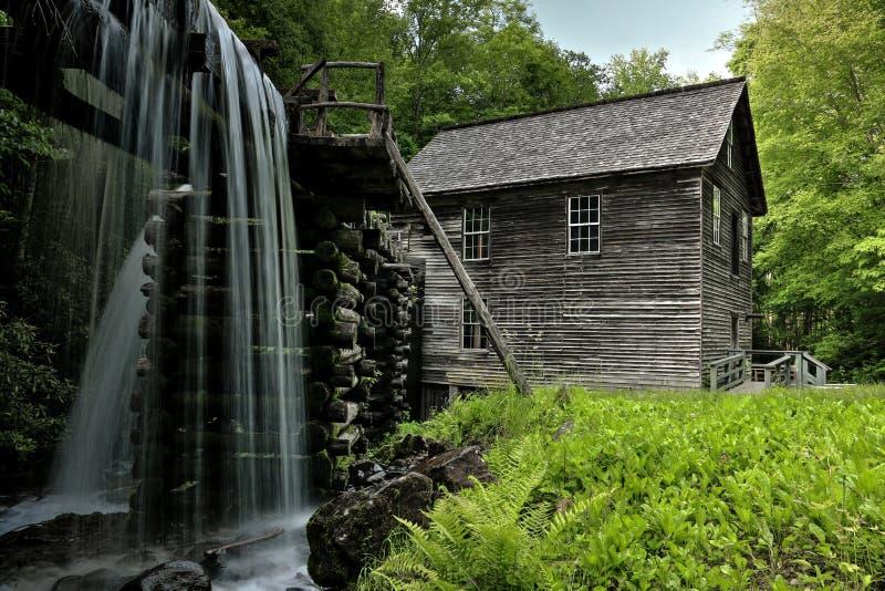 Moulin de Mingus de parc national de Great Smoky Mountains photo libre de droits