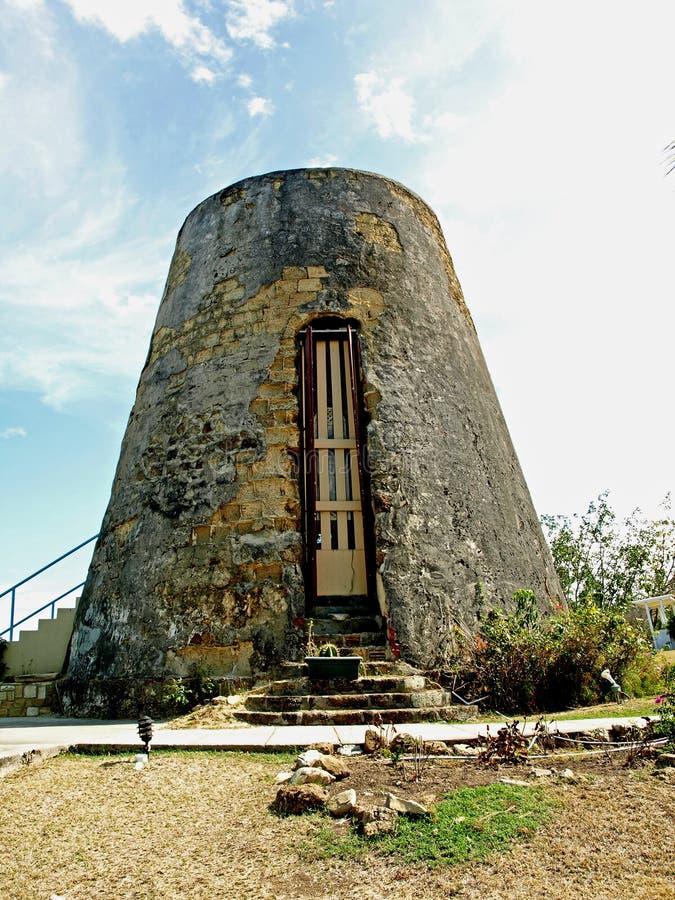 Moulin de sucre antiguais photos stock