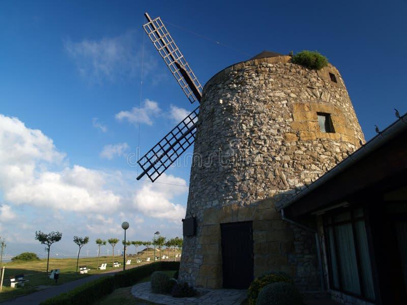 Moulin de vent photographie stock
