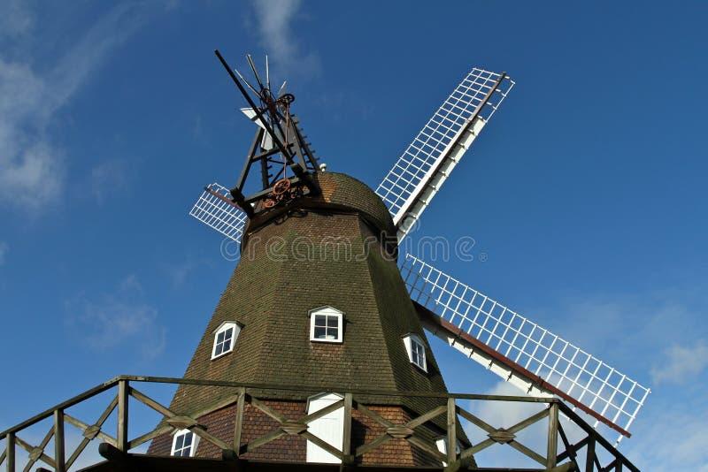 Moulin de vent dans Horsholm, Danemark image libre de droits