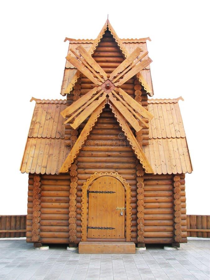 Moulin de vent de conte de fées images stock