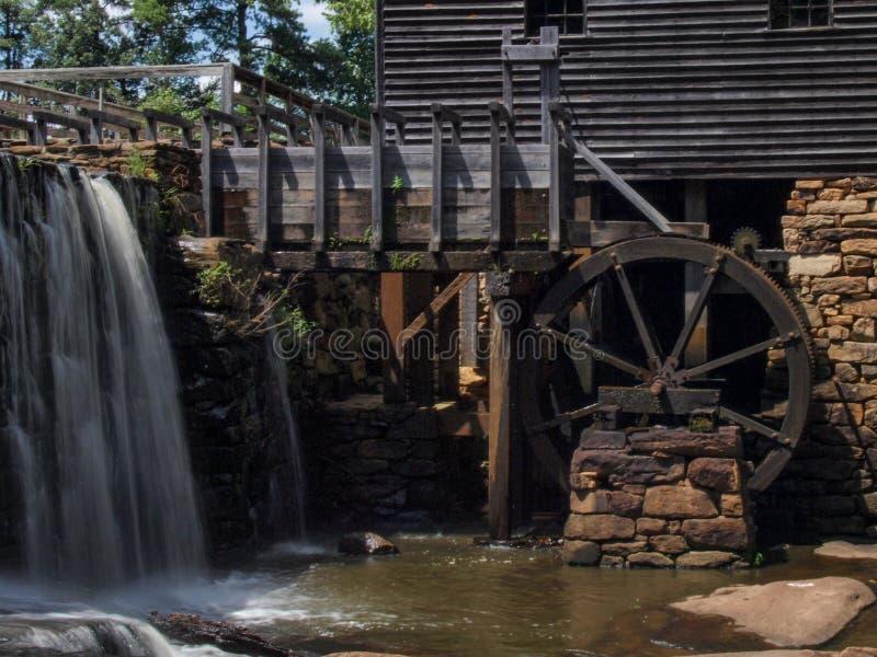 Moulin de Yates dans Raleigh, la Caroline du Nord image libre de droits