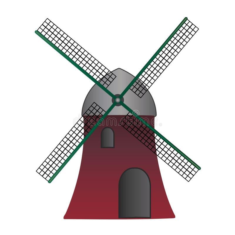 Moulin européen - pour le logo photo stock