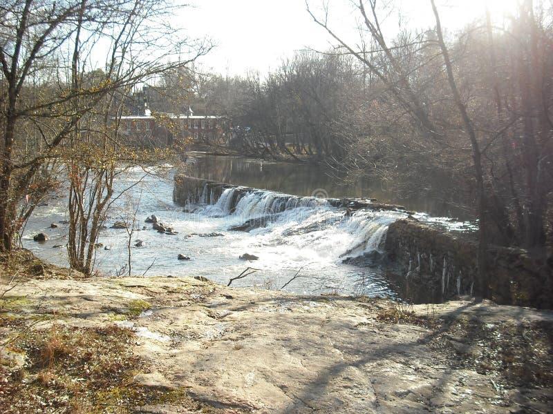Moulin inondé photo stock