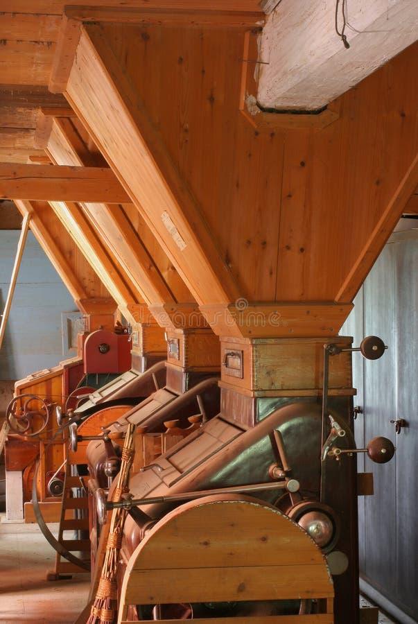 Moulin-intérieurs de l'eau photos stock