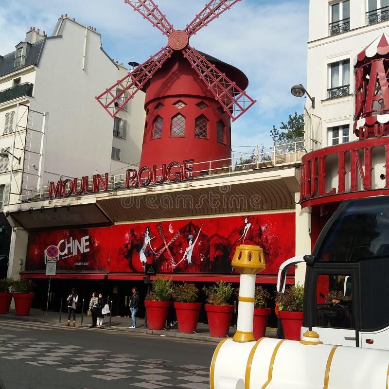 Moulin Rouge royaltyfria foton
