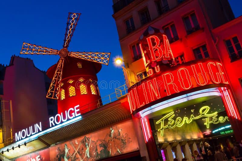 Moulin Rouge lizenzfreies stockbild