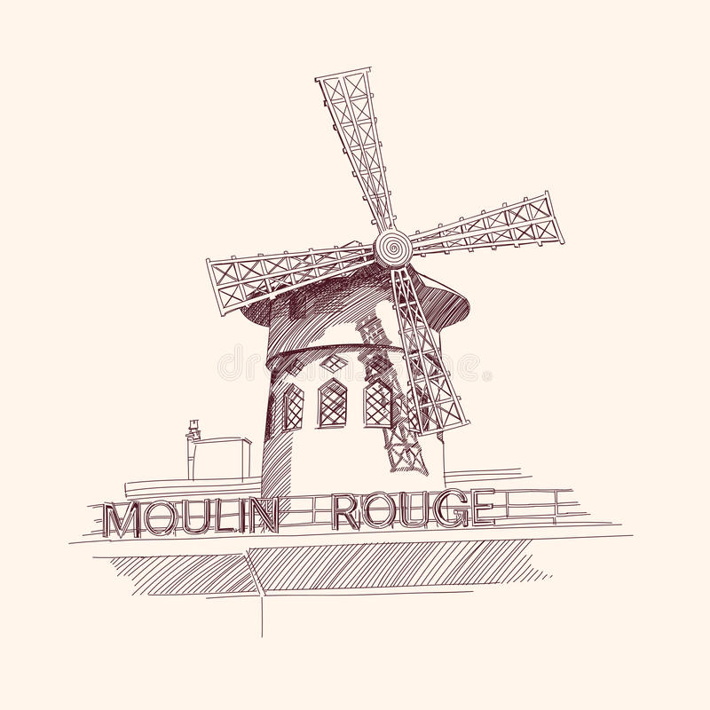 Free Moulin Rouge, Paris Stock Photography - 25442972