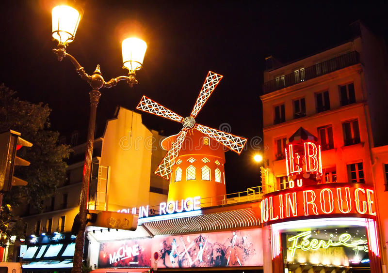 Download The Moulin Rouge In Paris , France Editorial Photo - Image: 19621096
