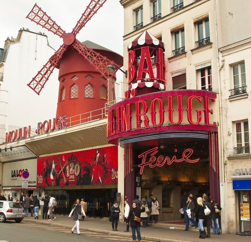 moulin szminka zdjęcie stock