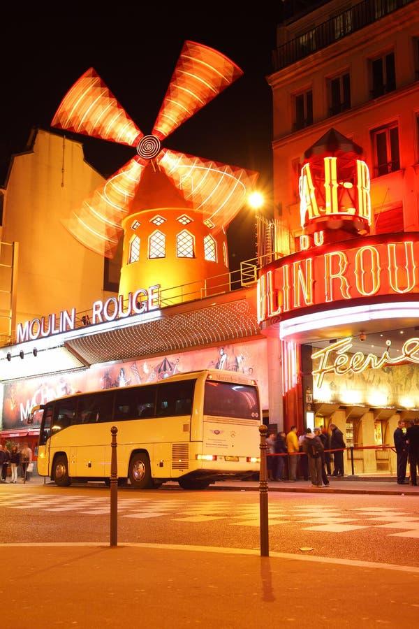 Moulin szminki kabaret fotografia royalty free