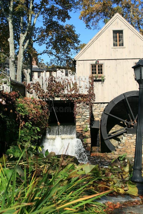 moulin vieille Plymouth de mA images libres de droits