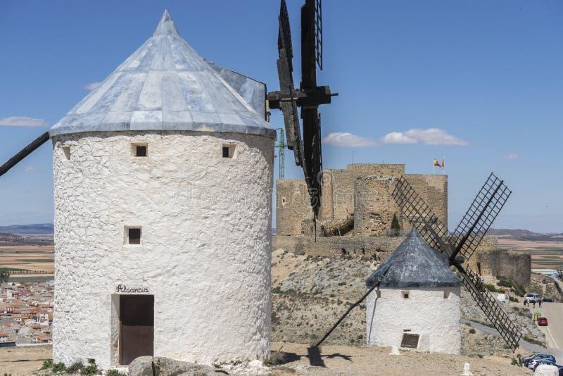 Download Moulins à Vent De Consuegra à Toledo, Espagne Ils Ont Servi à Rectifier Le GR Image stock - Image du vieux, monument: 76079037