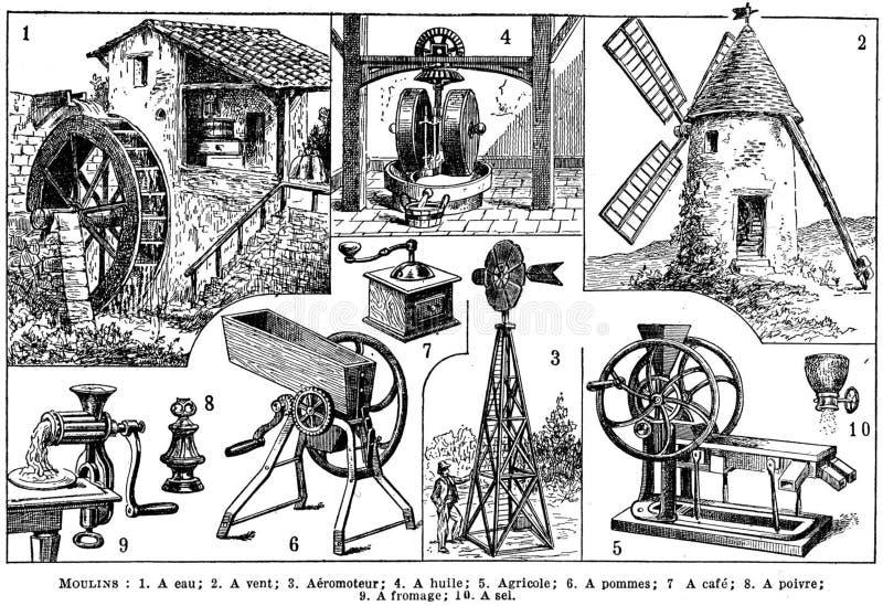 Moulins Free Public Domain Cc0 Image