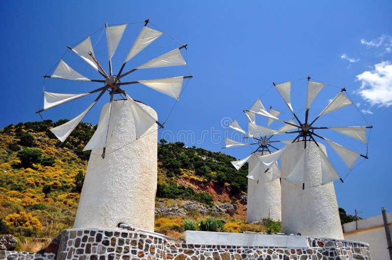 Moulins de vent photo libre de droits