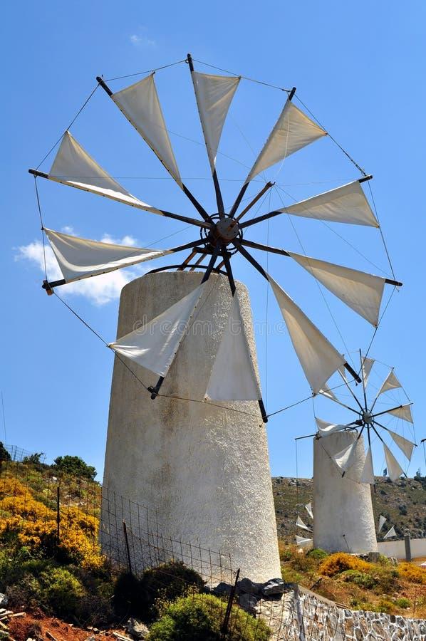 Moulins de vent images libres de droits