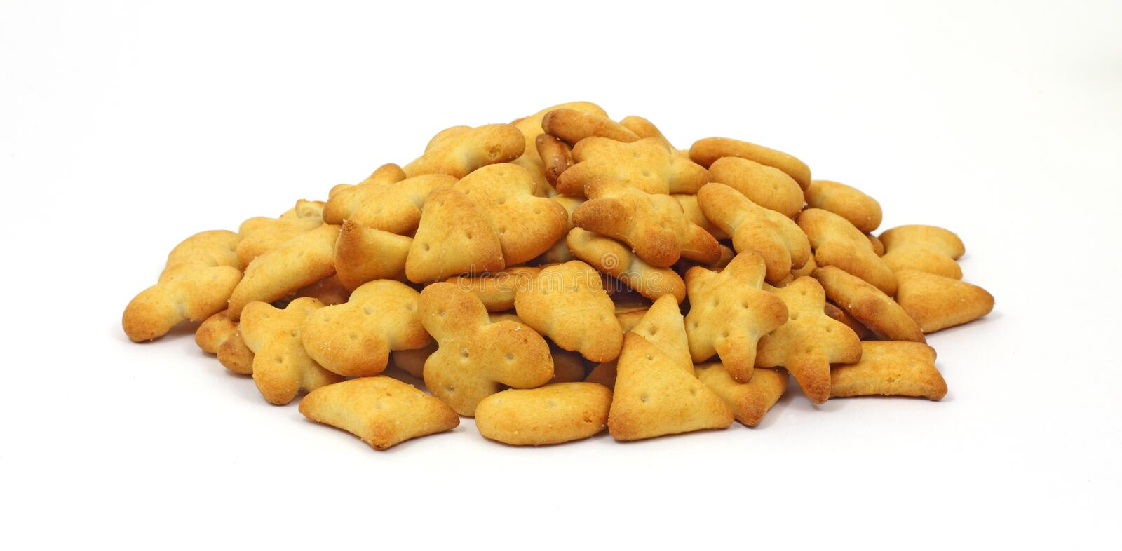 Mound Snack Crackers Royalty Free Stock Image