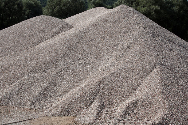 Download Mounds Of Gravel Stock Photos - Image: 6207603