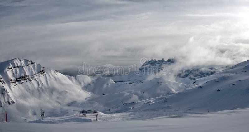 Download Mounrain lanscape stock photo. Image of alps, mist, nature - 35299622