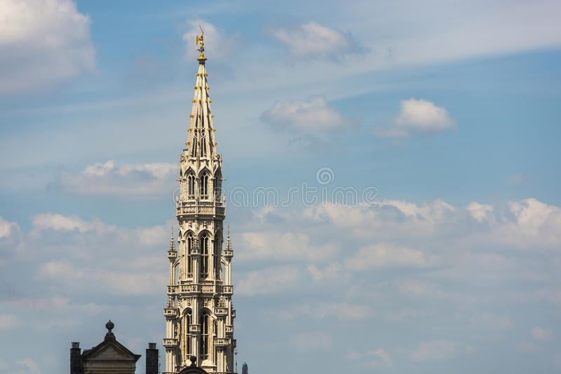 Mount of the Arts in Brussels, Belgium. royalty free stock photography