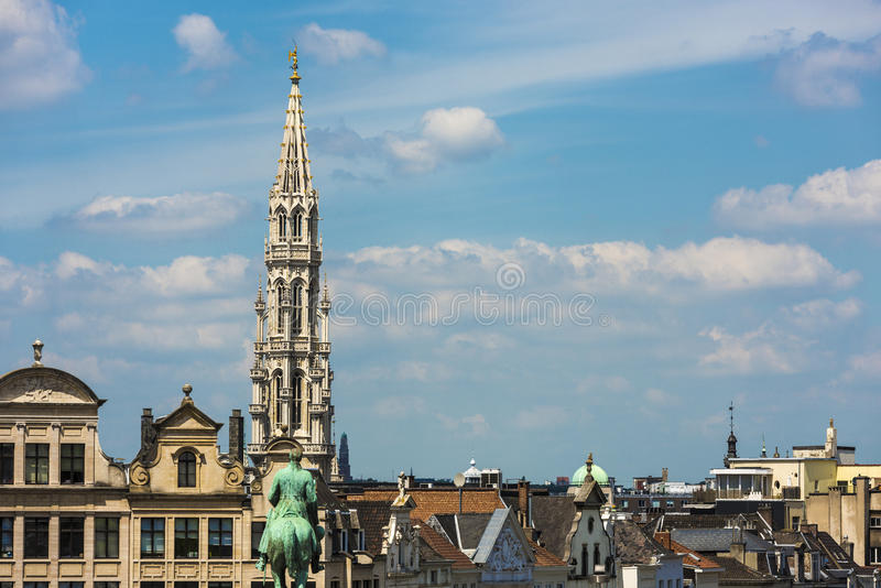 Mount of the Arts in Brussels, Belgium. royalty free stock photo