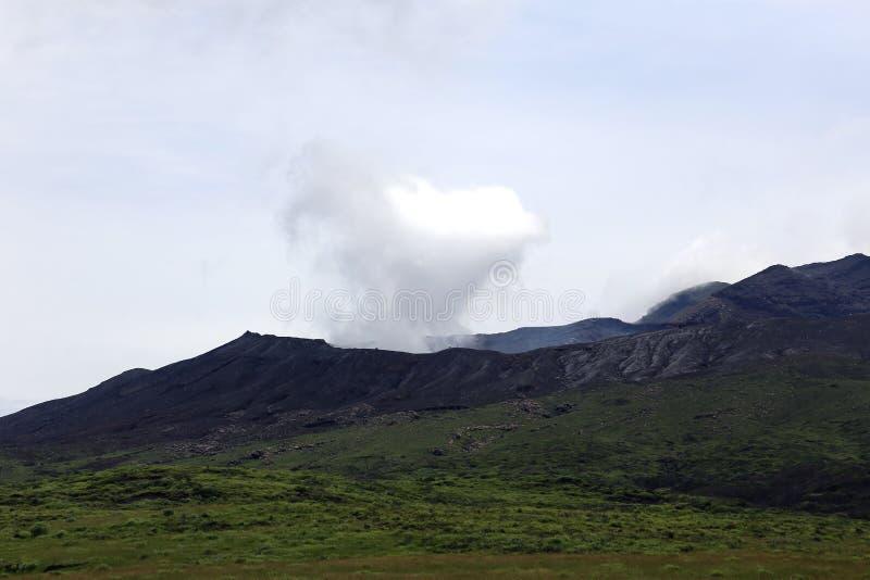 Mount Aso fotos de stock royalty free