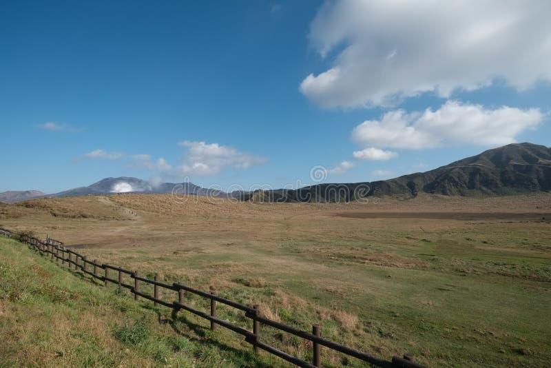 Mount Aso, Kyushu, Japan royalty free stock photo