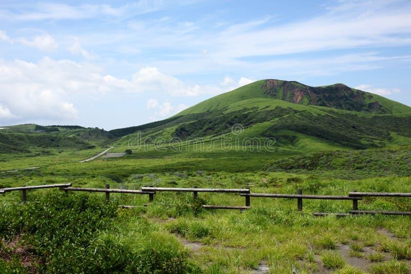 Mount Aso Kyushu,Japan royalty free stock photography
