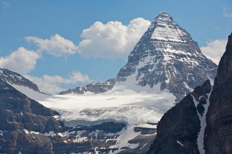 Download Mount Assiniboine And Glaciers Stock Image - Image: 15903715
