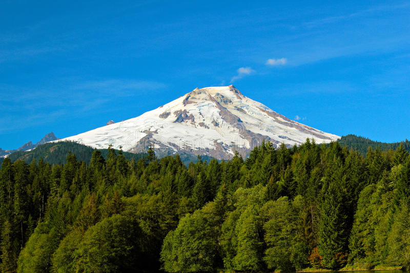 Mount baker royalty free stock photography