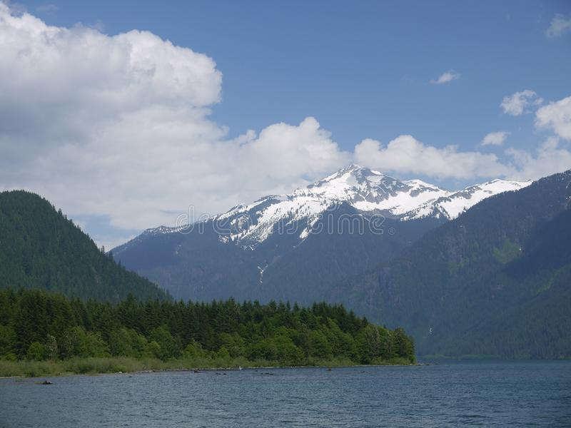 Mount Baker. Is a popular site near the Northern Cascades in Washington State stock image