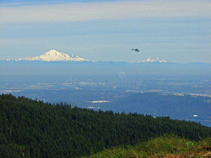 Download Mount Baker View, Vancouver Stock Image - Image: 3370469