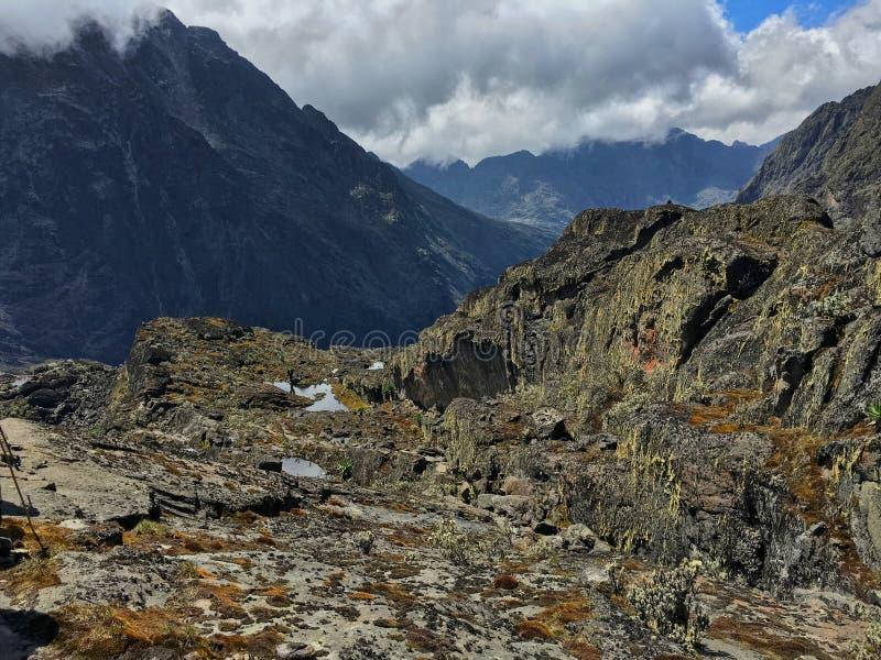 Mount Baker, Rwenzori Mountains National Park royalty free stock photo