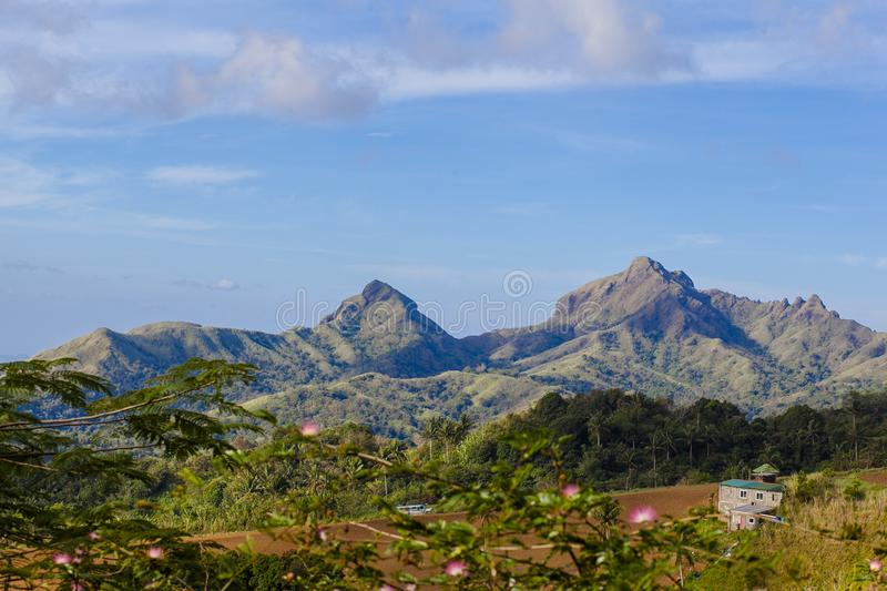 Mount Batulao, Mt. Batulao, Batulao Batangas mountain. Mt. Batulao is touted as one of the top favorites for trekking and mountain climbing. Located at Nasugbu stock photos