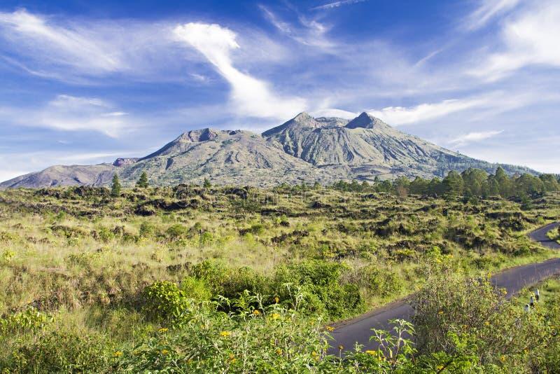 Mount Batur stock image