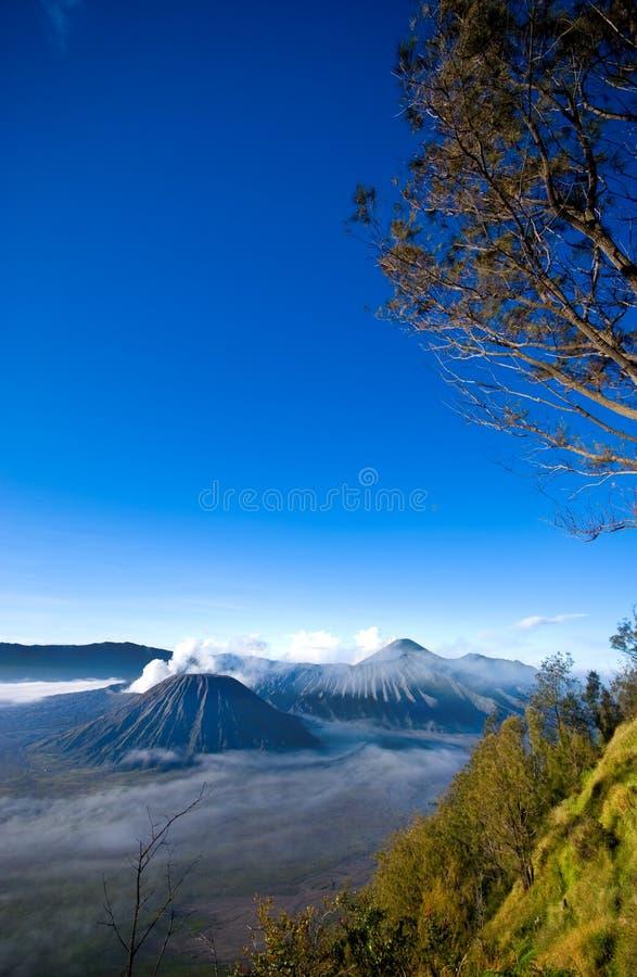 Mount Bromo. Taken in Tengger Caldera, East Java Indonesia royalty free stock images
