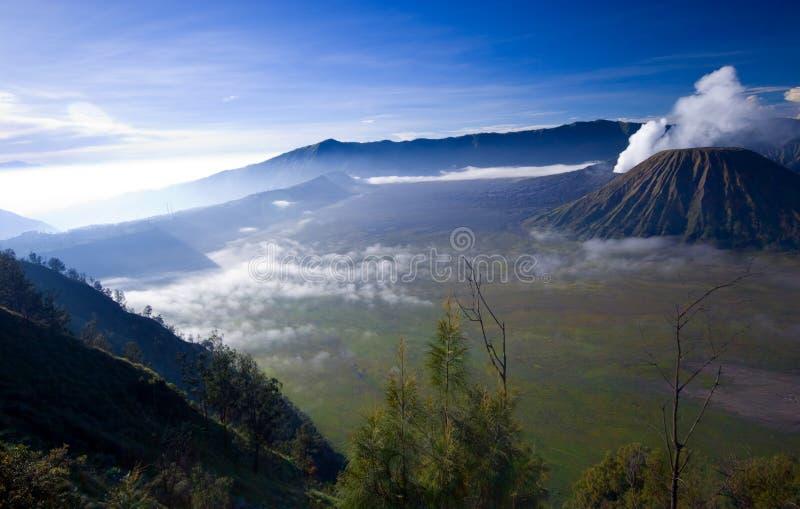 Mount Bromo. Taken in Tengger Caldera, East Java Indonesia royalty free stock photography