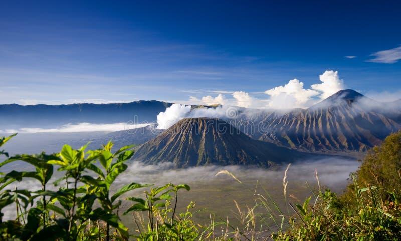 Mount Bromo. Taken in Tengger Caldera, East Java Indonesia stock image