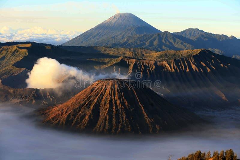 Beautiful Mount Bromo, Jawa Timur, Indonesia royalty free stock photo
