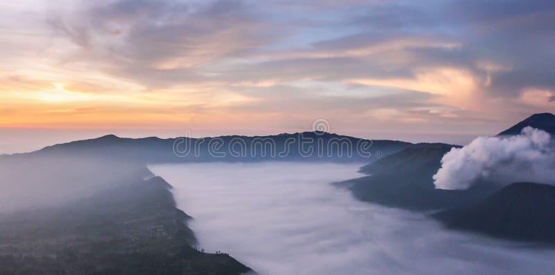 Mount bromo. Taken at sunrise stock photo