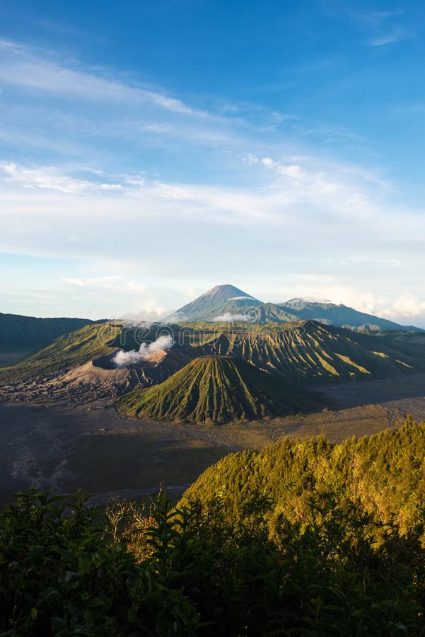 Mount Bromo volcano in Bromo Tengger Semeru National Park. East Java, Indonesia stock images