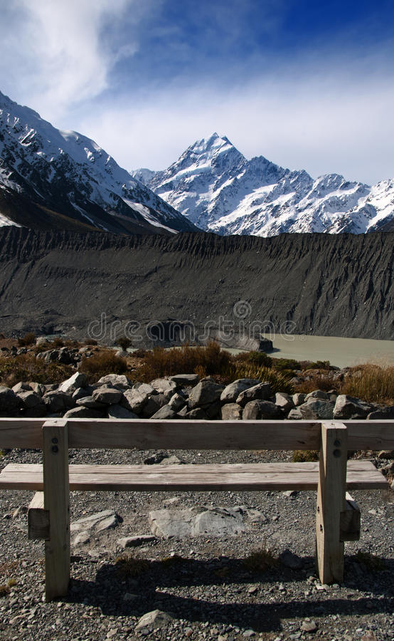 Download Mount Cook stock photo. Image of summit, scenic, zealand - 15896616