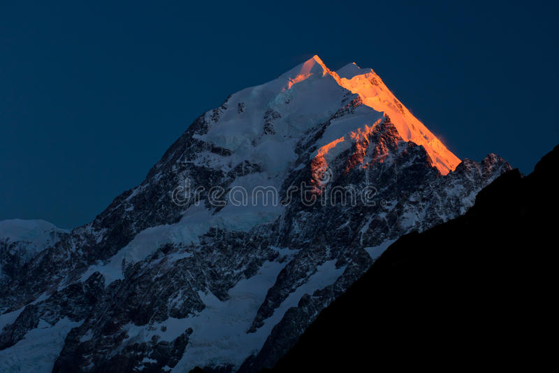Download Mount Cook stock photo. Image of nuova, blue, zealand - 23492362