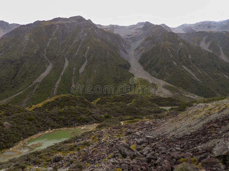 Mount Cook National Park is a real gem royalty free stock image