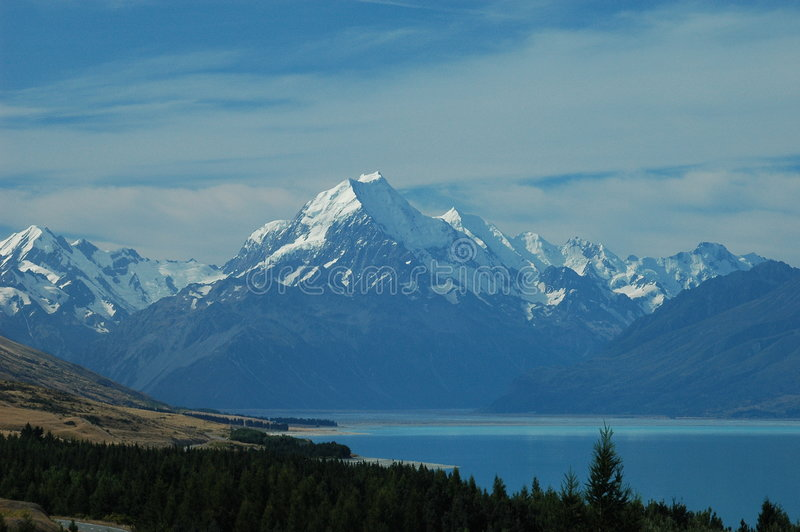 Download Mount Cook, New Zealand Stock Image - Image: 6237831